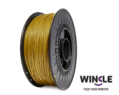 PLA-HD Oro 175 mm Materials3d Winkle Noroeste 43 A Coruña